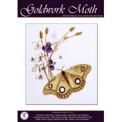 Moth Goldwork Kit