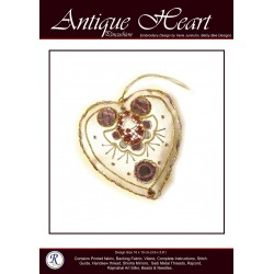 Antique Heart Pin Cushion