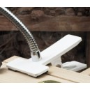 Spare white clamp for magnifier or light