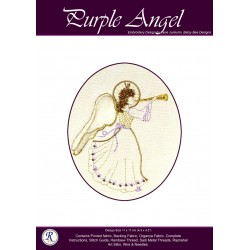 Purple Angel Goldwork Kit