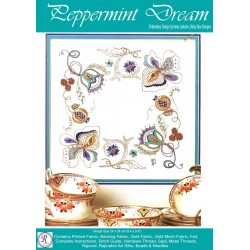 Peppermint Dream Goldwork Kit