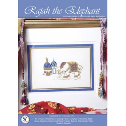 Rajah The Shy Elephant Goldwork Kit