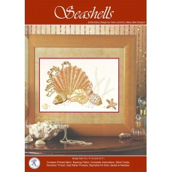 Seashells Goldwork Kit