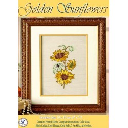 Sunflower Goldwork Kit