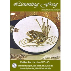 Listening Frog Goldwork Kit