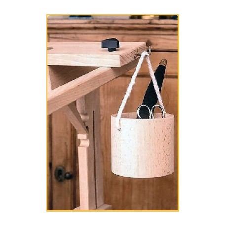 Wooden Tidy Pot